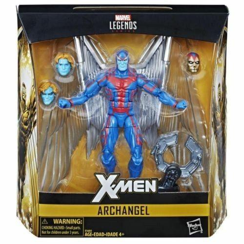 Marvel - legenden erzengel 6  deluxe exclusi action - figur  x - men  gamestop uns selle