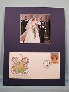 Honoring Princess Diana & her marriage to Prince Charles & First Day Cover