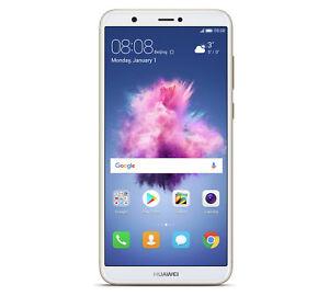 Nagelneu-Huawei-P-Smart-Gold-5-65-034-32GB-4G-LTE-Octa-Core-Sim-Frei-Entsperrt-UK