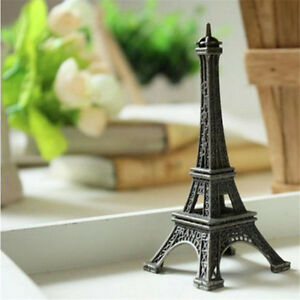 Vintage-Bronze-Paris-Eiffel-Tower-Statue-Sculpture-Paris-Decor-Wedding-Supply-PE