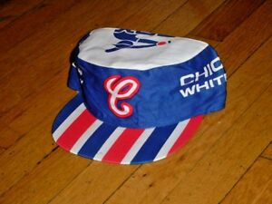 c73249e7769 Vtg 1980s Chicago White Sox Painters Cap Hat MLB Major League ...