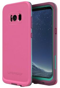 Lifeproof-Fre-Etui-pour-Samsung-Galaxy-S8-Twilights-Bord-Violet-Rose-Sarcelle