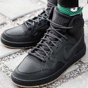EUR Men's 45 Black Trainers Shoes Mid UK Nike Winter Son Details about Force Boots 10 Of HED9WIY2