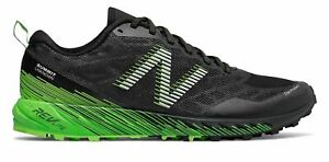 New-Balance-Men-039-s-Summit-Trail-Shoes-Black-with-Green