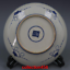 miniature 5 - China old antique Qing Dynasty Blue and white Shou character Porcelain plate