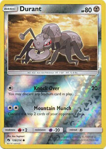 115 #115 Common Reverse Holofoil Near Mint Pokemon SM Lost Thunder Larvitar