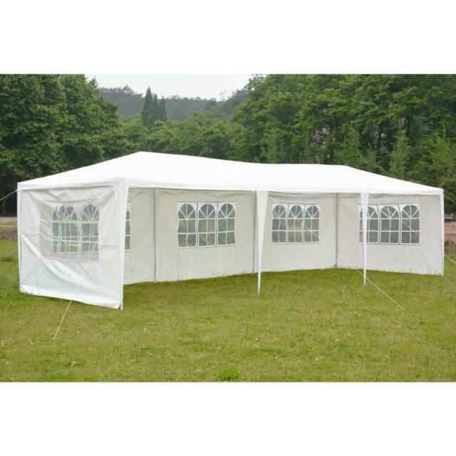 10/'x30/'Outdoor Canopy Party Wedding Tent Heavy duty Gazebo Pavilion Cater Events