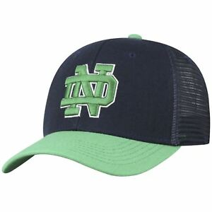 cheaper eb2db 4a755 Image is loading Notre-Dame-Fighting-Irish-Hat-Adjustable-Men-039-