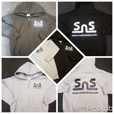 Scootnskates Hoodies Avaialble in Diferent sizes