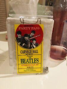 1964-Beatles-Carnegie-Hall-New-York-City-Backstage-Pass