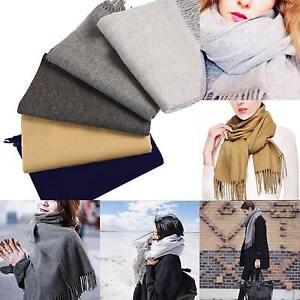 ba29ef3e3 Image is loading Womens-Oversized-Scarf-Shawl-Blanket-Scarf-Large-Checked-