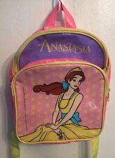 Rare!!!1997 Anastasia Child's Backpack  20th Century Fox