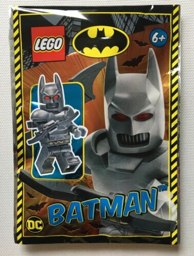 Lego Batman blindé Costume Minifigure Polybag Set 211906 NEUF scellé 6 ans