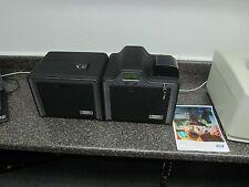 Fargo HDP5000 HDPii Dual Side Financial Card Printer Magnetic +EMV Smart Encoder