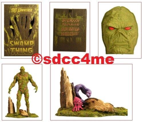 Sdcc comic - con - exklusive dc - universum sumpf sache + bonus un-men