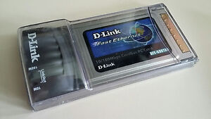 DLINK FAST ETHERNET CARDBUS PC CARD DRIVER FOR WINDOWS