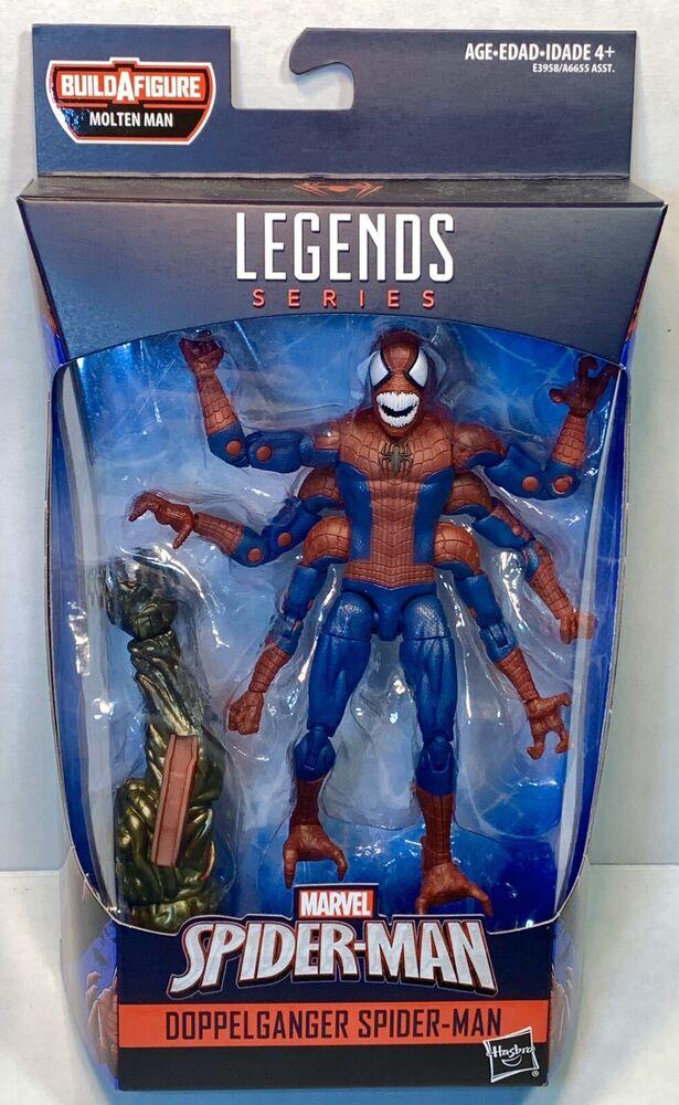 Spider-Man Marvel legends 6 pouces Doppleganger Spider-Man-dans la main!!!