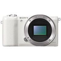 Sony Alpha A5100 Digital Camera Body Only - White