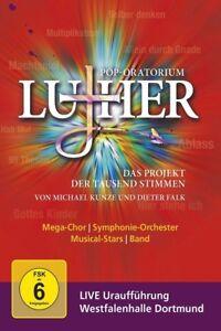 Dieter-loeil-Michael-Falk-pop-Oratorium-Luther-2-DVD-NUEVO-Falk-Dieter