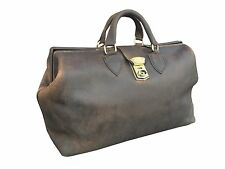 Leather Gladstone Doctor Bag Carry Case Duffle Carrier John Shooter England