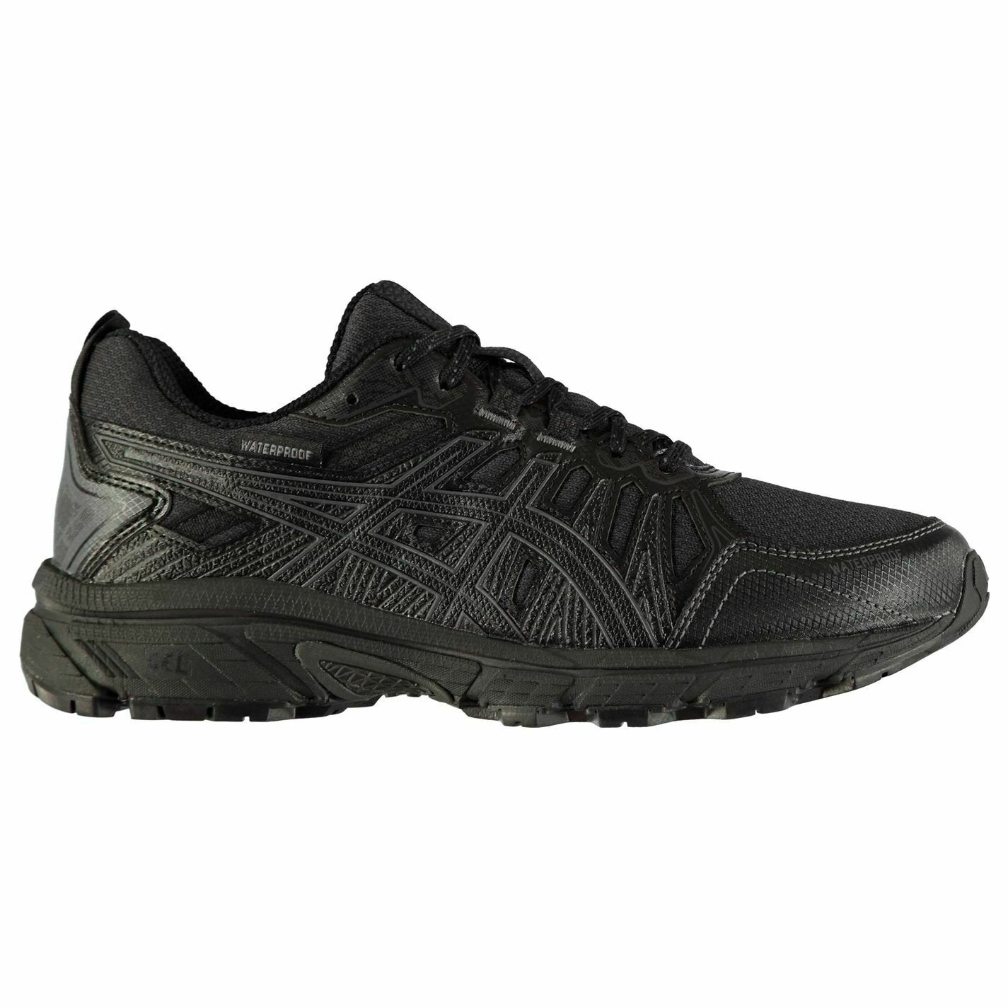 Para Mujer Asics Gel Venture 7 Impermeable Trail Running Zapatos Ortholite