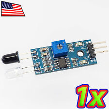 [1x] Adjustable IR Infrared Obstacle Avoidance Sensor Module for Arduino Robot
