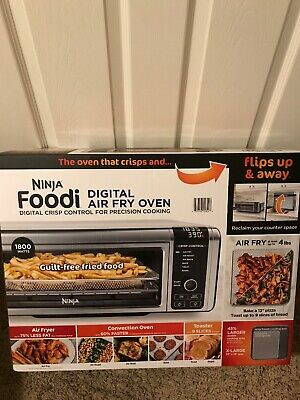 OPEN BOX Ninja Foodi 9 in 1 Digital Air Fry Oven with Convection Oven in Silver