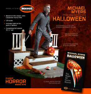 Halloween Michael Myers 1/8 Model Kit with LED Lights Moebius IN STOCK 062PL01