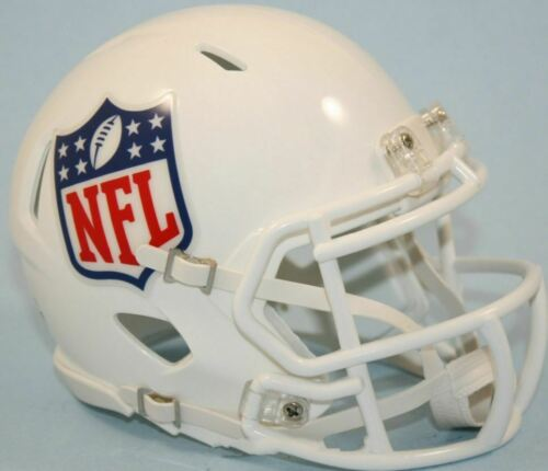 NFL AMERICAN FOOTBALL LOGO SHIELD MINI SPEED HELMET RIDDELL NEW SEALED PACK