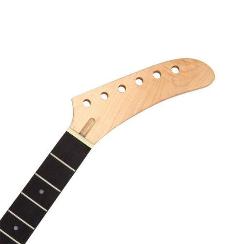Banana 22 Fret Electric Guitar Neck for ST TL Part Replacement Clear Satin Maple