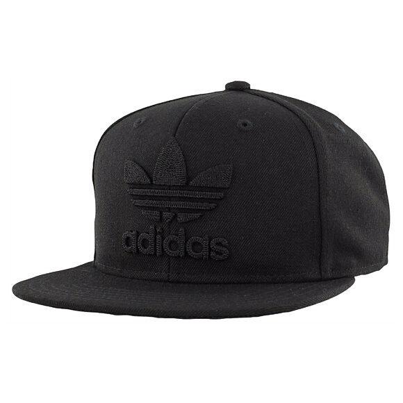 e4b1ff733d8cc adidas Originals Thrasher Chain Snapback Hat Cap Beanie Logo - Black ...