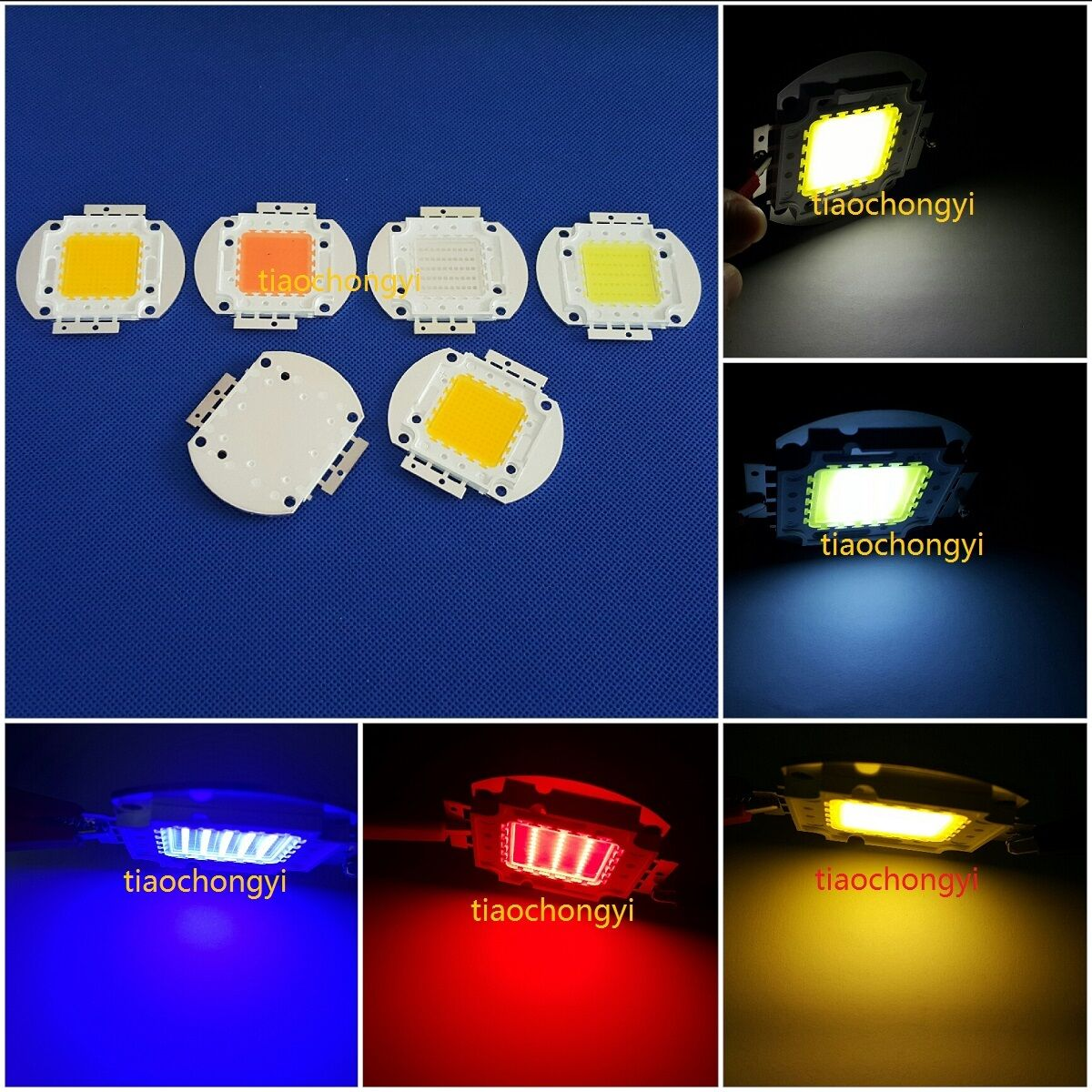 100W Alta Potencia LED Full Spectrum 660nm 850nm 940nm 395nm 365nm 6000k 30000k