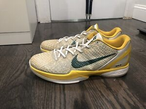 Details about NIKE ZOOM KOBE 6 VI RICE HOME SAMPLE 16 GRINCH HELICOPTER BLACK MAMBA JOKER