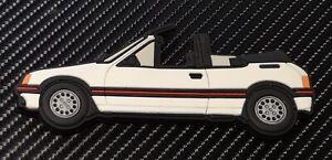 Peugeot-205-Cti-fridge-magnets-White