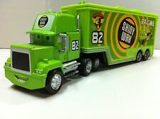 Disney Pixar Car Mack No.82 Shiny Wax Truck Diecast Toy Car 1:55 Loose New