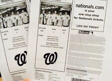 "One Direction 2 Tickets ""Where We Are Tour""-Nationals Park,Washington DC 8/11/14"