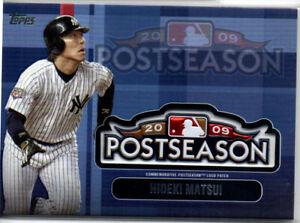 2018 Topps Update Series  Postseason Logo Patch New York Yankees Hideki Matsui