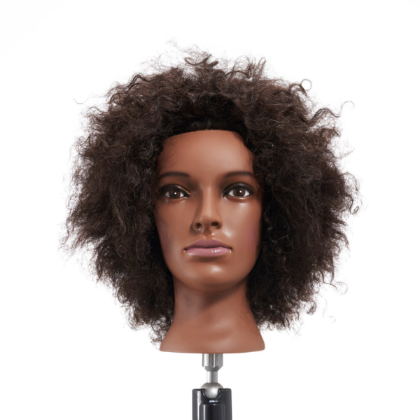 Afro Mannequin Head 100 Real Hair Hairdresser Training
