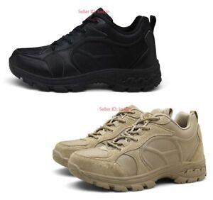 Para-hombres-exterior-impermeable-botas-de-combate-militar-tactico-del-ejercito-Zapatos-de-Trabajo