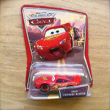 Disney PIXAR Cars TONGUE LIGHTNING McQUEEN diecast #09 airborne at race World of