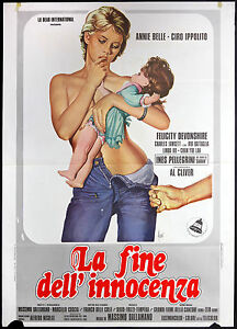 CINEMA-manifesto-LA-FINE-DELL-039-INNOCENZA-belle-ippolito-devonshire-DALLAMANO