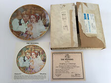 "1981 ""The Wedding"" Coppelia Ballet Series 8th Issue Collector Plate"