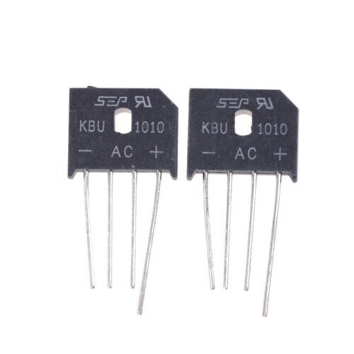 2PCS KBU1010 10A 1000V Single Phases Diode Bridge Rectifier  PB9UK
