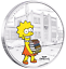 2019-The-Simpsons-Lisa-Simpson-1oz-1-Silver-99-99-Dollar-Proof-Coin thumbnail 1