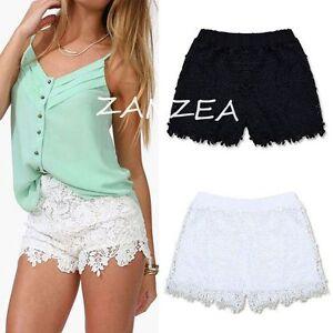 Ladies White Shorts Uk