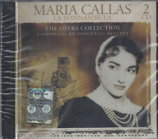 2 CD ♫ Box Set **MARIA CALLAS ♦ LA SONNAMBULA ♦ VINCENZO BELLINI** nuovo