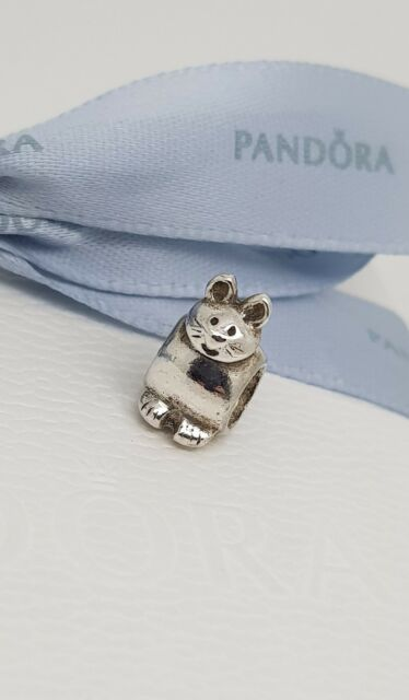 fcd8c5b3d PANDORA Retired Sterling Silver Cat Charm - 790284 for sale online ...