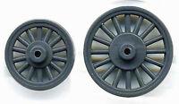 Wagon Wheels--2 Sizes N Model Railroad Plastic Detail Gl8032