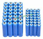 28x AA 3000mAh + 28x AAA 1800mAh 1.2V NI-MH Rechargeable Battery 2A 3A Blue Cell