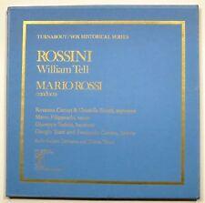"""3 LP BOX SET-ROSSINI """"WILLIAM TELL"""" CARTERI,SCIUTTI, FILIPPESCHI...."""